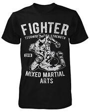 COMBATTANT T-Shirt MMA Muay Thaï BOXER Gym kickboxing film Grappling lutte TOP