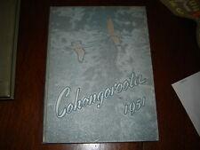 1951 Shepherd College Yearbook Shepherdstown West Virginia Cohongoroota