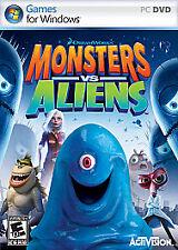 Monsters vs. Aliens (PC GAMES) NEW IN BOX
