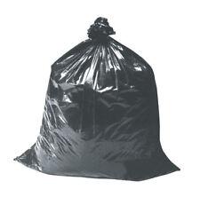 BLACK EXTRA HEAVY DUTY REFUSE BAGS SACKS BIN LINERS RUBBISH BAG UK 200G QUALITY