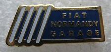 Pin's Voiture FIAT Normandy Garage #1044