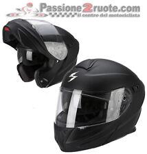 Casco Scorpion Exo 920 negro mate modular levante helmet