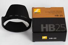 NIKON paresoleil HB25 pour zoom 24-85 AFD 2,8-4