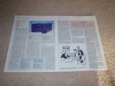 Soundcraftsmen PCR 800 Amplifier Review,2 pgs,1984,spec