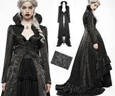 Manteau satin brocart traîne gothique baroque mariage dark princesse PunkRave