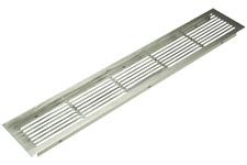 Aluminium Vent Grill Kitchen Plinth Worktop Heat - 500x86mm