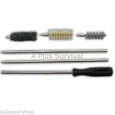 Shotgun Cleaning Brushes Kit 12 Gauge Gun Rifle Survival Kit for Range Shooting