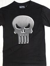 The Punisher 3D Skull  Marvel Comics Polyester T-Shirt