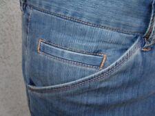 Men's Dress Pants - Jeans Look Stretchable Tencel Fabric Unique European Style