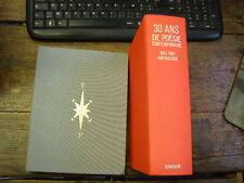 lot de 2 livres de poésie édition grassin