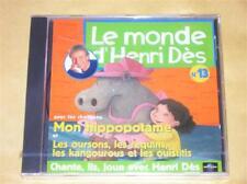 CD LE MONDE D'HENRI DES N° 13 / NEUF SOUS CELLO++++++++