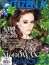 CITIZEN K Magazine Summer 2012 ROSE McGOWAN Rose Smith FRANZISKA FRANK @New@