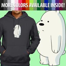 We Bare Bears Baby Ice Bear Cub Cartoon Cute Pullover Sweatshirt Hoodie Sweater