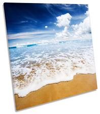 Beach Surf ola Paisaje Marino Plaza tela pared arte Foto Impresión