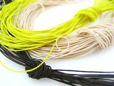 10ms 1mm assorted Round Cord Elastic Thread hat Beading jewellery craft elastic
