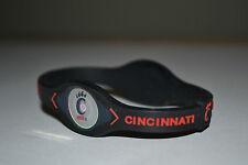Cincinnati Bearcats CU College Sports Power Bracelet Wristband Band Black