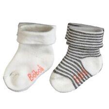Bebé Calcetines 2 Pack Blanco Lana Para Chicos von BOBOLI TALLA 16/18 19/21