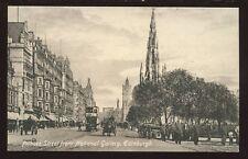 Scotland Midlothian EDINBURGH Princes St from National Gallery PPC tram#48
