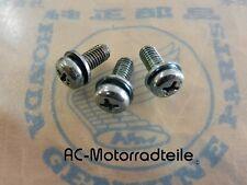 Honda CB 350 400 Four Screw set mounting ignition plate 3x93891-05012