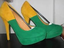 NEU Elegante SeXy Designer Plateau HIGH HEELS Damen Schuhe Pumps Stilettoabsatz