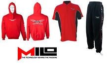 Milo Clothing Range Joggers, Hoodie, Polo Shirt Carp Match Fishing M - 3XL