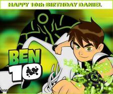 Ben 10 Alien Force Edible image Cake topper decoration