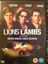 Robert Redford Meryl Streep Tom Cruise LIONS FOR LAMBS   2007 War Drama   UK DVD