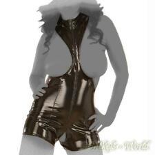 Ledapol - Extravaganter Lack Pants-Body ouvert mit Zip in diversen Farben