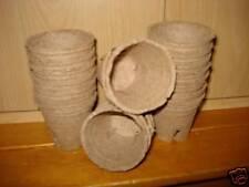 PK (500) 6cm Jiffy PLASTICA ALTERNATIVO COCCO plant pot