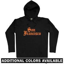 San Francisco Gothic Hoodie - Hoody Men S-3XL - Gift SF California Giants 49ers