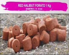 pellet da innesco forato pesca carpa storione siluro 14- 20 mm halibut pesce