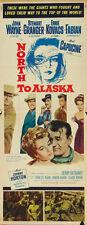 North to Alaska (1960) John Wayne movie poster print