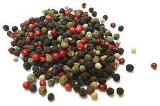 4 Peppercorn Mix/Whole Dried Mixed Peppercorns Premium Quality Free UK P & P