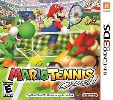 MARIO TENNIS OPEN 3DS  GAME NEW
