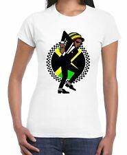 Jamaican Rasta Ska Logo Rude Boy Women's T-Shirt