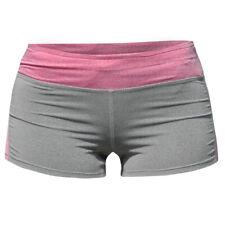 Bad Girl Logo Shorts - Charcoal Marl/Pink Marl