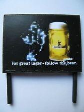 N /& OO Gauge Pearl Lager Beer Model Railway Billboard