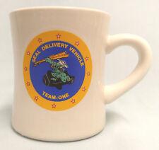 US NAVY SEALS SEAL DELIVERY VEHICLE SDV TEAM ONE CREST LOGO CUSTOM MUG CUP STEIN