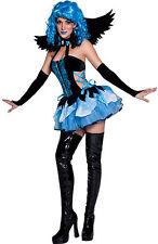 33751 Garden Angel Costume Ladies Fairy Fancy Dress Outfit Sizes S,M