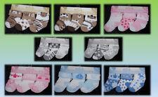 Set 3er Socken Strümpfe Babysocken Erstlingssocken Bär Wal Blume Krone Princess