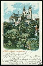 Magdeburg, Dom vom Fürstenwall, 1904