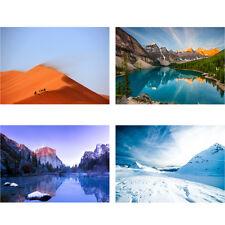 PAESAGGIO Grand Canyon Mountain Lakeside Paesaggio Murale Parete Photo carta da parati