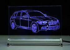 Lastra di LED è inciso BMW 1 f20 5-PORTE INCISIONE Auto pacchetto M