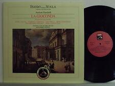 MARIA CALLAS disco LP La Gioconda MADE ITALY Teatro alla Scala bicentenario