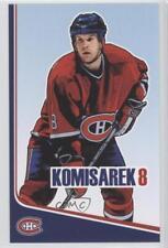 2006-07 Montreal Canadiens Team Issue #8 Mike Komisarek Hockey Card