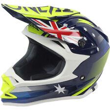 Oneal 2017 7 Series Evo Australian Blue/Yellow Helmet