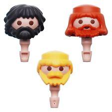 Playmobil tête avec Bart & cheveux pour pirates chevalier romain soldats