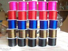 Nylon Band elastisch Stärke 0,8 mm GUMMIBAND EXTRA STARK ARMBAND Gummifaden