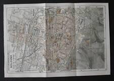 Antica Stampa=Topografica= BOLOGNA =Scala1:20000-1909c.