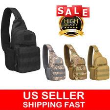 Tactical Sling Bag Military Backpack Pack Small Shoulder Sling Molle Bag for Men